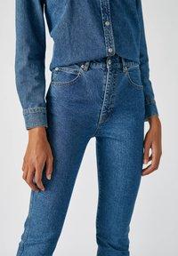 PULL&BEAR - Jeans Slim Fit - dark blue - 3