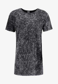 RANDOM WASH OVERSIZE FIT - Print T-shirt - schwarz