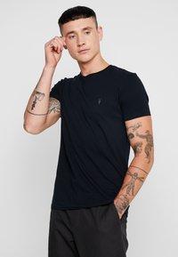 AllSaints - TONIC CREW - Basic T-shirt - ink navy - 0