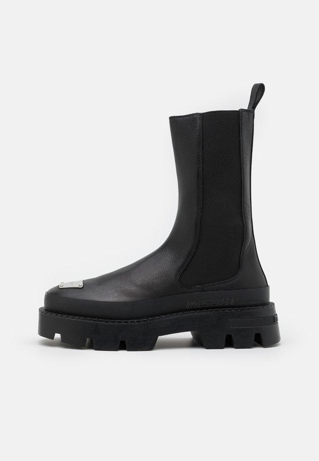 CHELSEA COMBAT BOOT - Cowboy- / Bikerboots - black