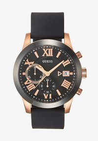 Guess - MENS DRESS - Chronograph watch - black/rose - 1