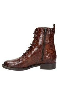 Nelson - Lace-up ankle boots - cognac - 6