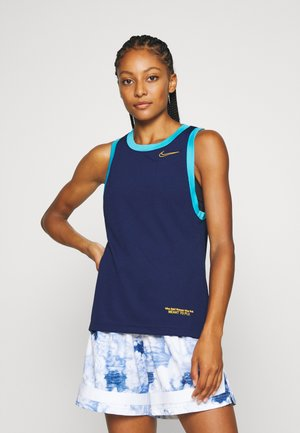 DRY TOP - Camiseta de deporte - blue void/blue fury/university gold