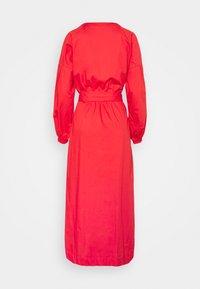 Thought - WILLA TIE WAIST DRESS - Košilové šaty - red - 1
