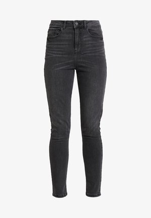 PCNINA - Jeansy Skinny Fit - dark grey denim