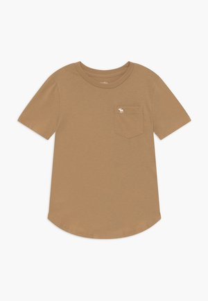 CURVED - T-shirt basic - brown