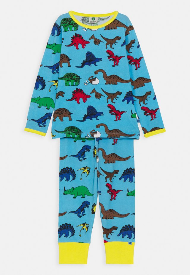 NATTØJ DINO SET - Pyjama - blue grotto