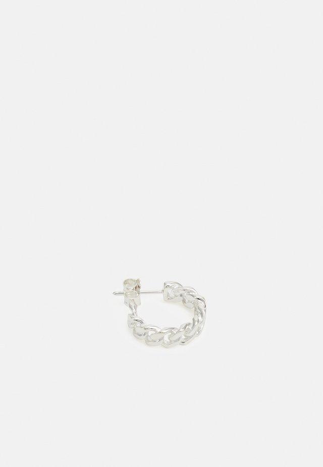HOOP CHAIN MEDIUM - Boucles d'oreilles - silver