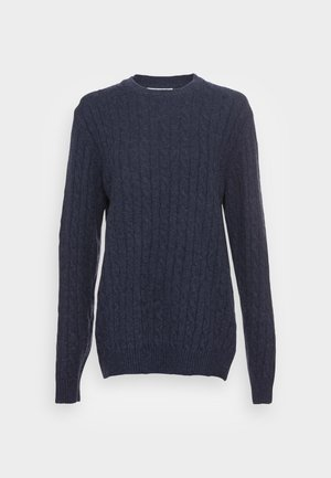 CABLE JUMPER - Svetr - dusty blue