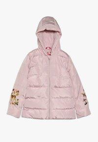 Lemon Beret - SMALL GIRLS JACKET - Winter jacket - english rose - 0