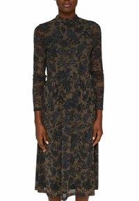 Esprit Collection - AUSGESTELLTES  - Day dress - dark brown - 6
