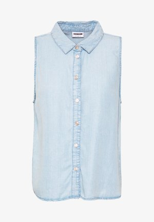 NMDANNY ENDI - Skjorte - light blue denim