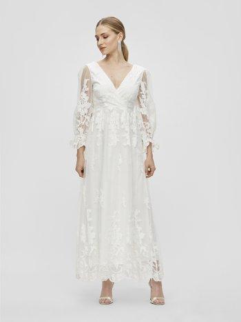 YASBRIDIE MAXI DRESS - Abito da sera - star white