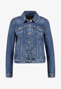 ORIGINAL TRUCKER - Denim jacket - soft as butter dark