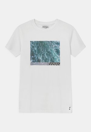 MERVAN - Print T-shirt - bright white