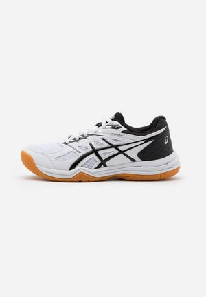 UPCOURT GS UNISEX - Tennissko til multicourt - white/black
