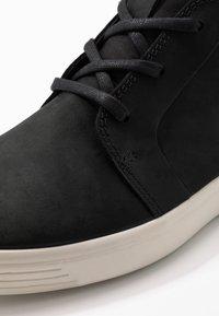 ECCO - SOFT 7 - Höga sneakers - black - 5
