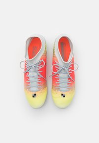 Nike Performance - MERCURIAL 8 ACADEMY MDS FG/MG - Moulded stud football boots - white/bright mango - 3