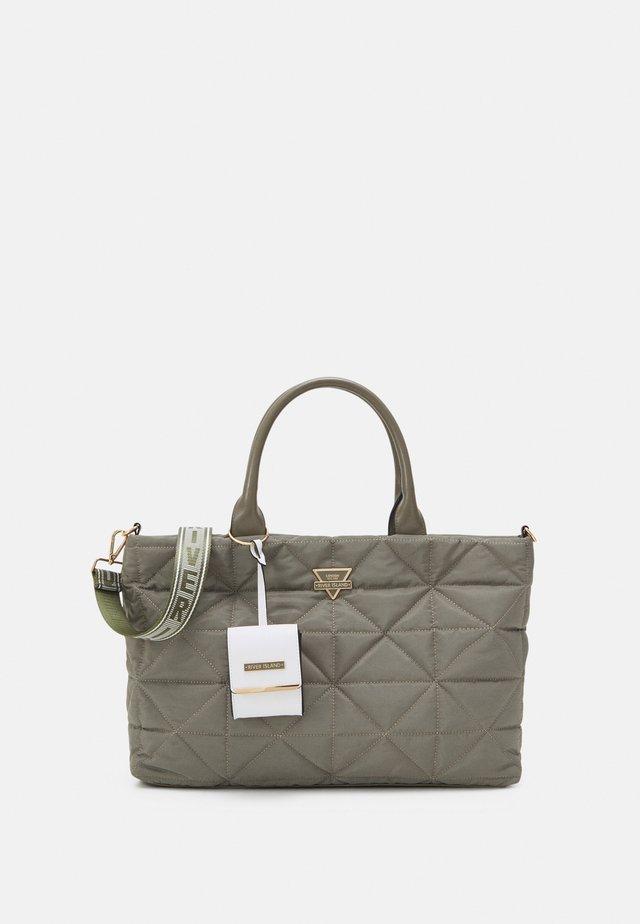 SET - Shopping bag - khaki dark