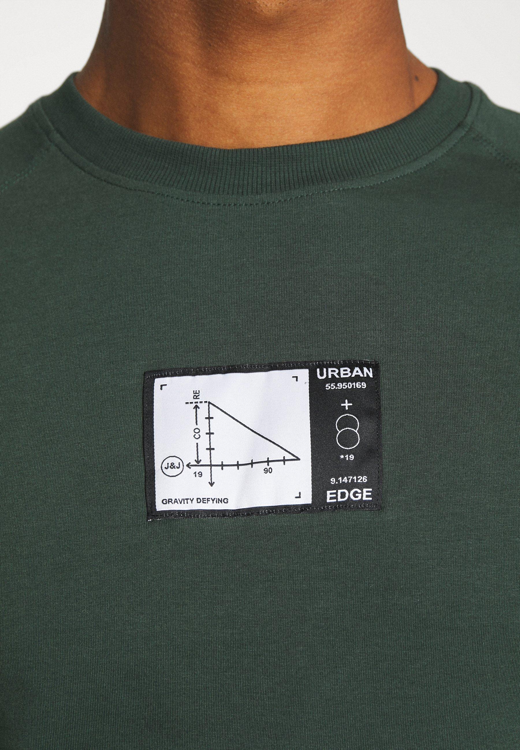 Jack & Jones JCOJEDI TEE CREW NECK  - Print T-shirt - darkest spruce dxT8N