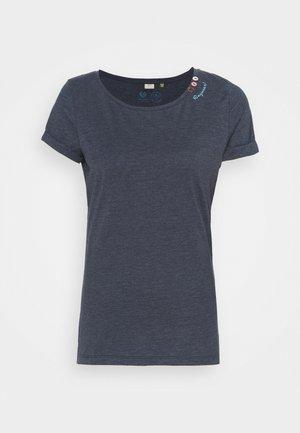 FLORAH - Basic T-shirt - navy