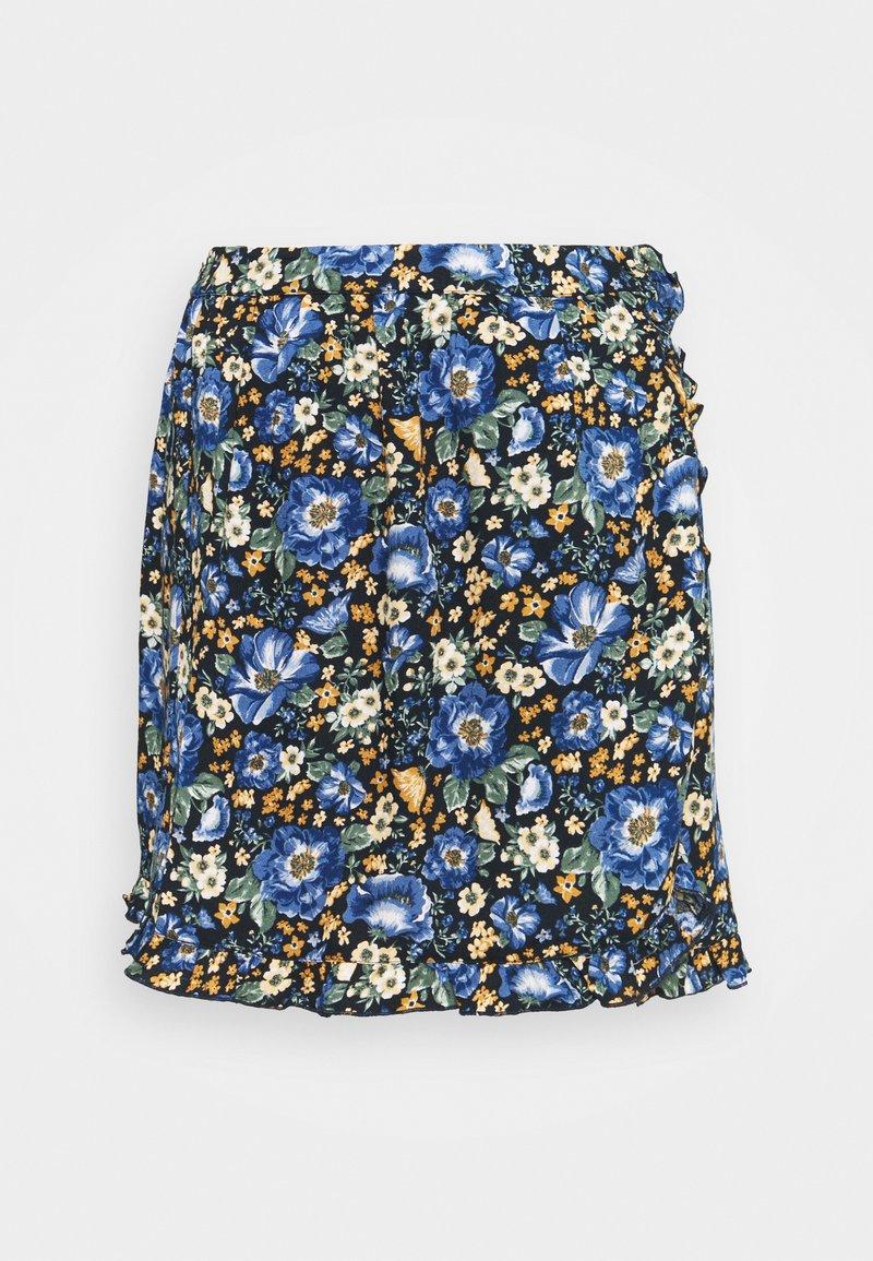 Springfield - FALDA CORTA - Minikjol - medium blue