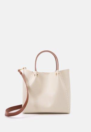 SHOPPER BAG PEGGY SET - Handbag - ecru