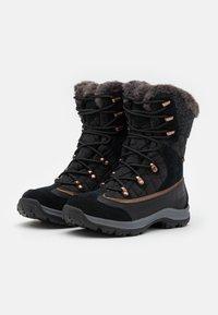 Jack Wolfskin - ASPEN TEXAPORE HIGH  - Winter boots - black/dark grey - 1