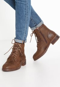 Anna Field - Lace-up ankle boots - coffee - 0