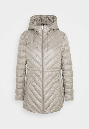 PEARL SHEEN - Down coat - cork