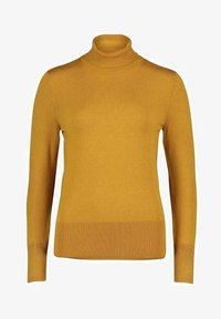 Betty Barclay - ROLLKRAGENPULLOVER - Fleece jumper - yellow - 0