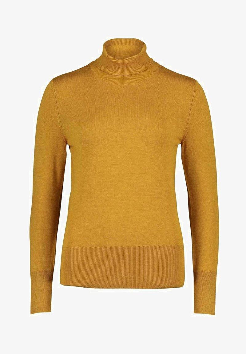 Betty Barclay - ROLLKRAGENPULLOVER - Fleece jumper - yellow