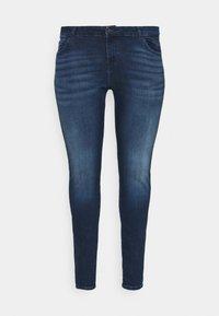 Noisy May Curve - NMLUCY  - Jeans Skinny Fit - dark blue denim - 3