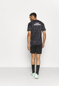 Nike Performance - PARIS ST GERMAIN SHORT AWAY - Club wear - black/arctic punch - 2