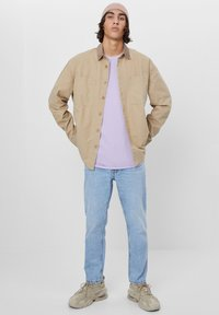 Bershka - AUS CORD - Shirt - beige - 1