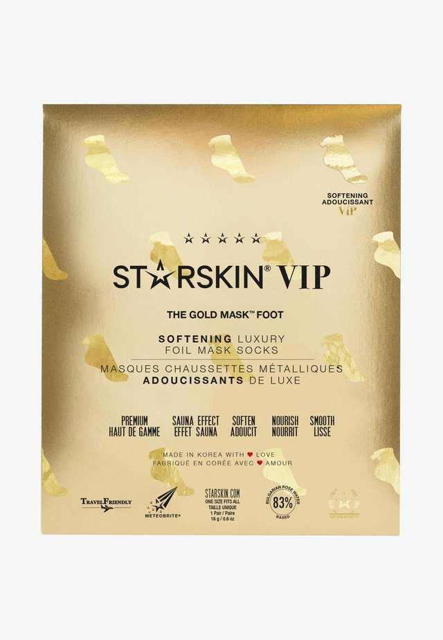 STARSKIN ® VIP THE GOLD FOOT MASK - Foot mask - -