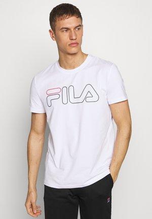 RICKI - T-shirt imprimé - white
