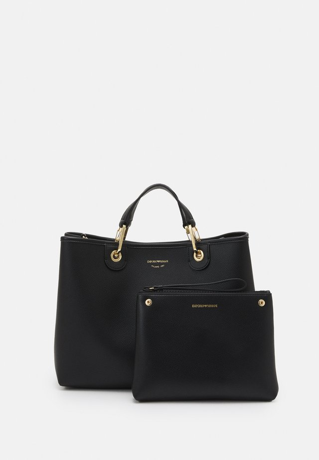 CAPSULE MYEABORSA SET - Bolso de mano - nero/silver-coloured