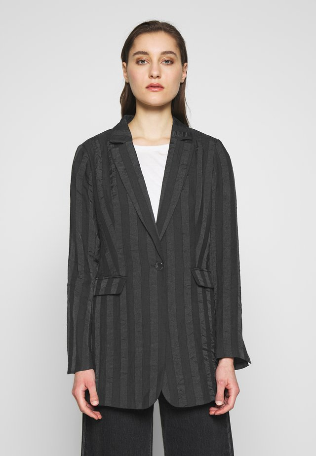 POSH - Halflange jas - black