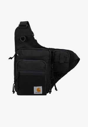 DELTA SHOULDER BAG UNISEX - Bältesväska - black