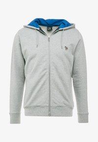 PS Paul Smith - HOODED ZIP - Sweatjacke - grey - 3