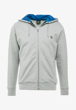 HOODED ZIP - Mikina na zip - grey