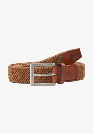 CLASSIC - Braided belt - light brown
