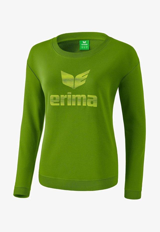 ESSENTIAL SWEATSHIRT DAMEN - Sweatshirt - twist of lime / lime