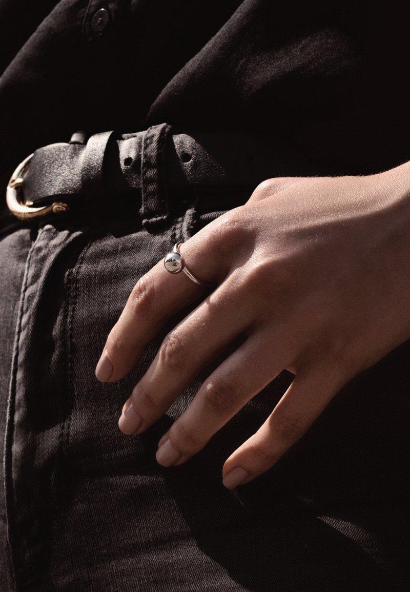 No More - MAXI BUBBLE - Ring - silver