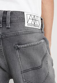 Amsterdenim - MOKUM - Shorts di jeans - beton dorp - 5