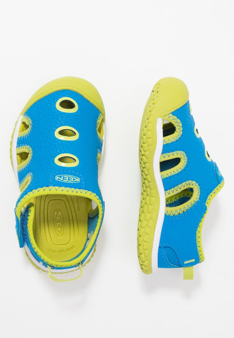 Keen - STINGRAY - Watersports shoes - brilliant blue/chartreuse
