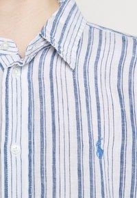 Polo Ralph Lauren - STRIPE - Button-down blouse - white/astor blue - 7