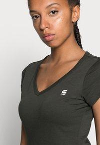 G-Star - EYBEN SLIM - Basic T-shirt - asfalt - 4