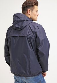 K-Way - LE VRAI CLAUDE UNISEX - Waterproof jacket - depth blue - 2